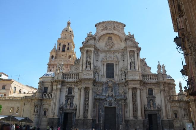 Iglesia Catedral de Santa María en Murcia